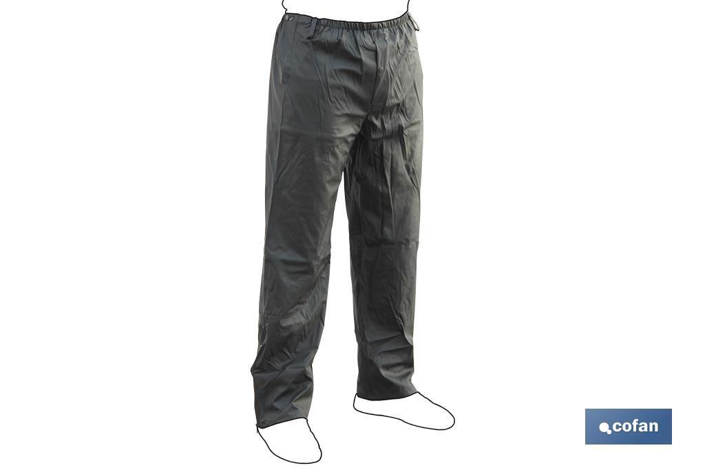 Pantalón Traje Agua PU/PVC Verde