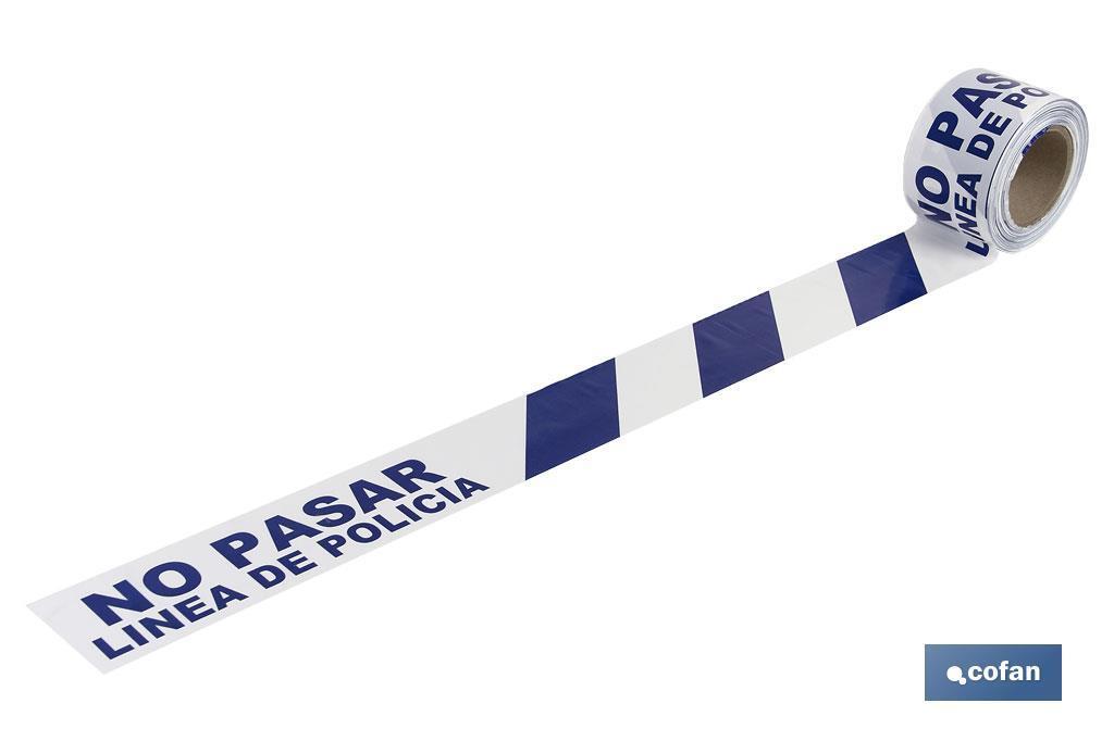 Cinta Balizamiento LíNEA POLICIA