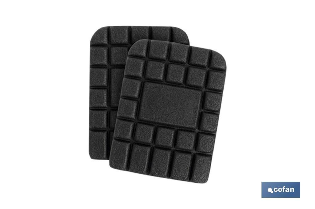 Rodilleras fabricadas en espuma de Polietileno. Se vende en pack de 2 unidades. Perfectas para proteger tus rodillas. Son cómod