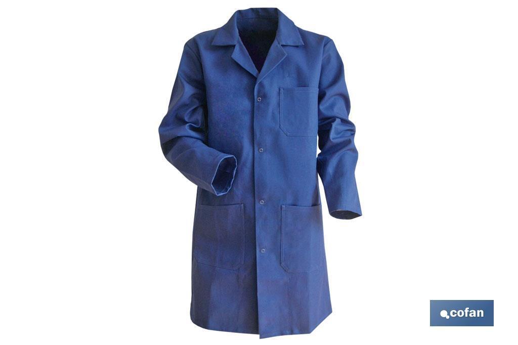 Bata Azul Oscura Mod.Limeur