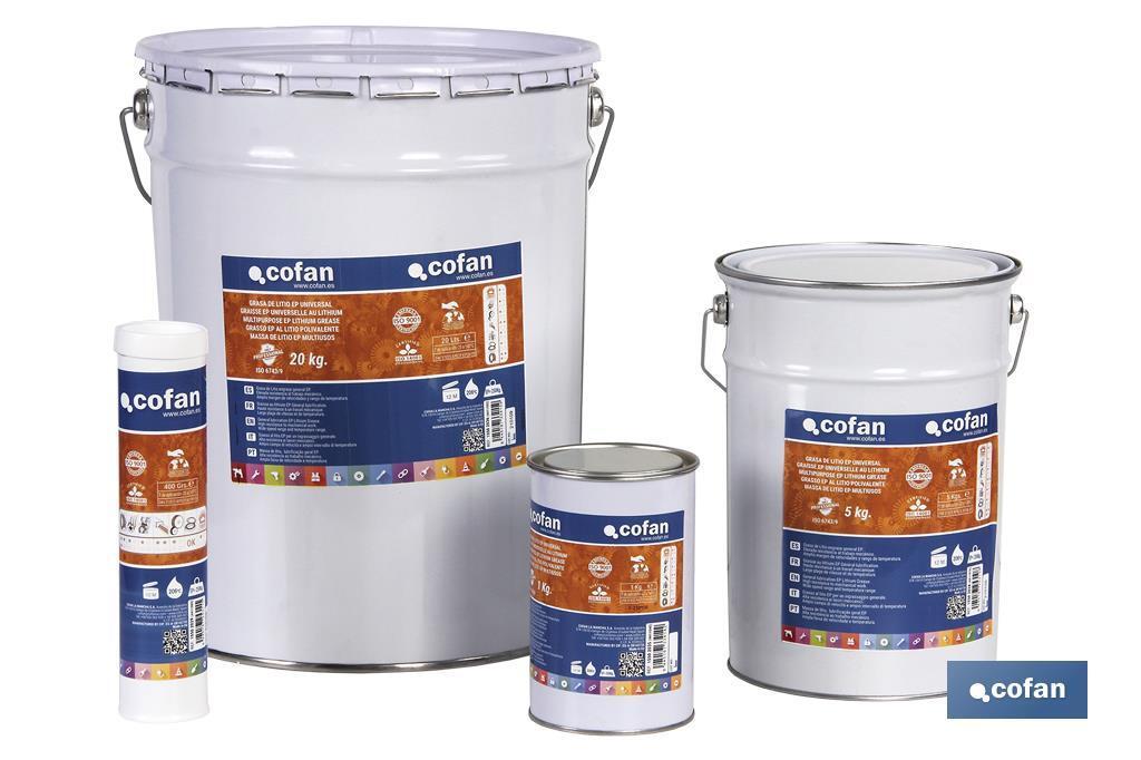 Grasa litio ISO 6743/9 EP Color Caramelo