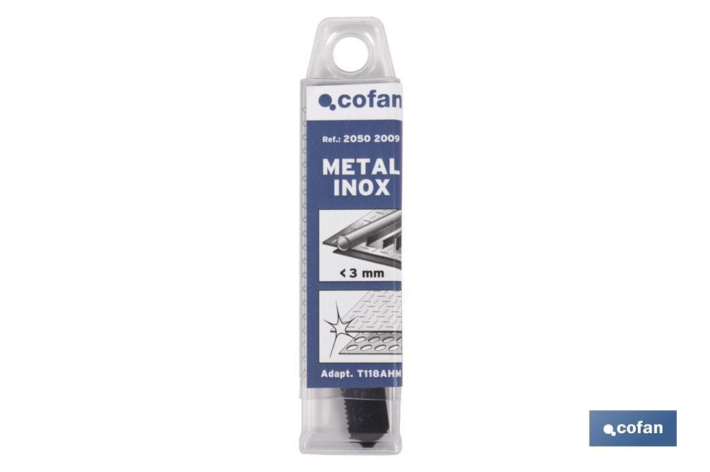 Sierras Calar (1 pc) Inox/Metal