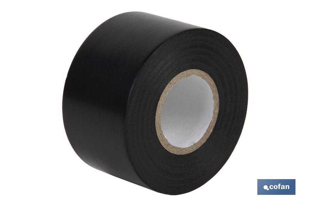 Cinta Aislante de PVC Negro 0,15 mm x 50 mm x 33 m