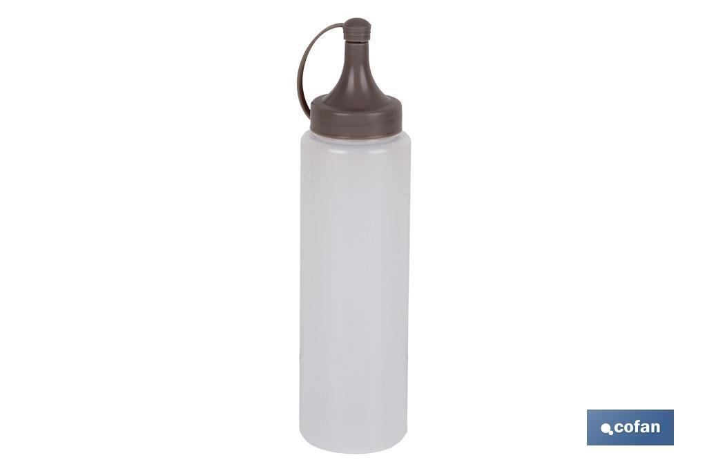 Botella Aceitera Mod. Albahaca Color Piedra