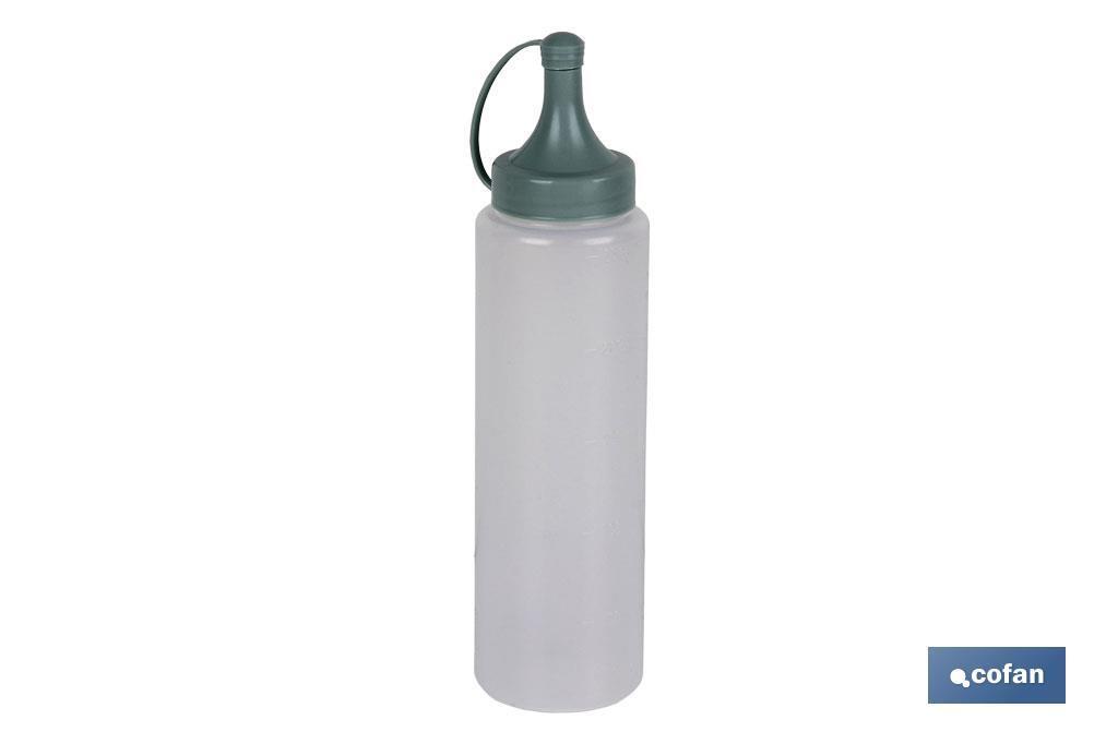 Botella Aceitera Mod. Albahaca Color Verde Agua