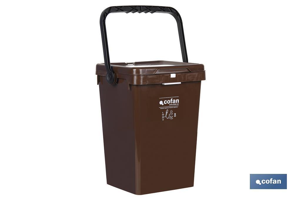 Contenedor Marrón para Residuos Orgánicos