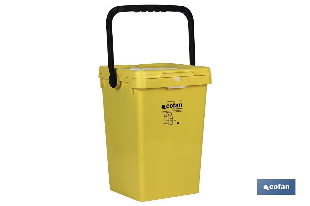 Contenedor Amarillo para Plásticos y Latas