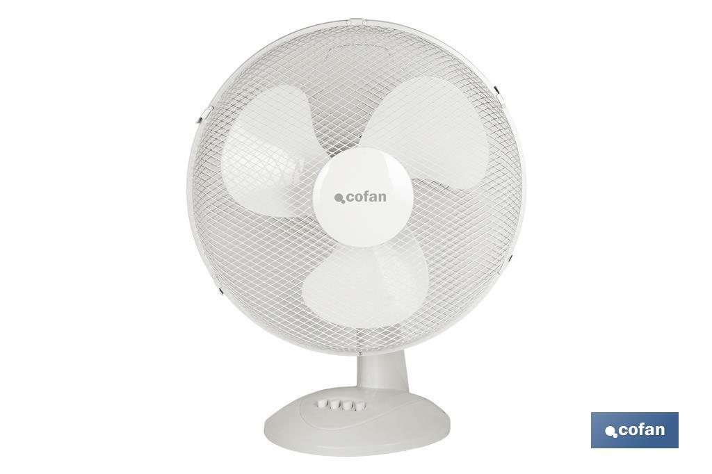 Ventilador Blanco Modelo Solano de 3 velocidades