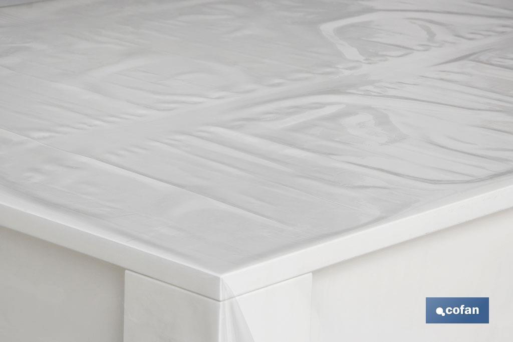Rollo Mantel Cristal PVC  Mod.Ixia