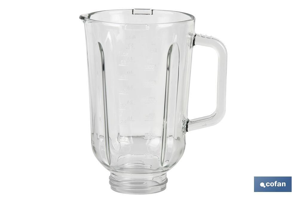 Recambio Jarra de vidrio batidora de vaso