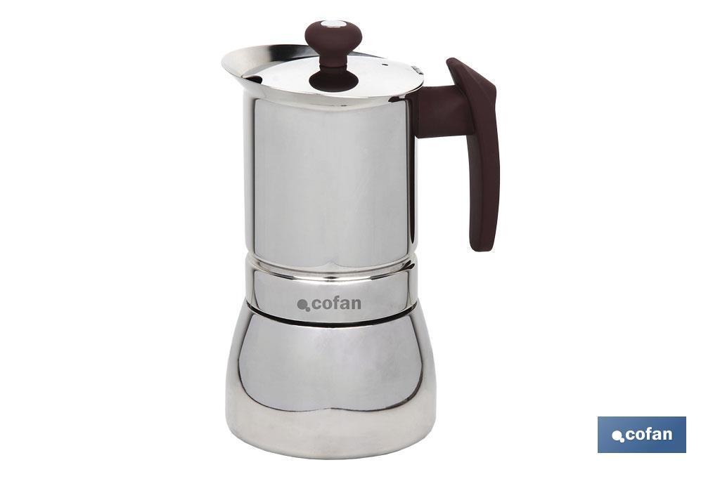 Cafetera Acero Inox Mod.Constanza