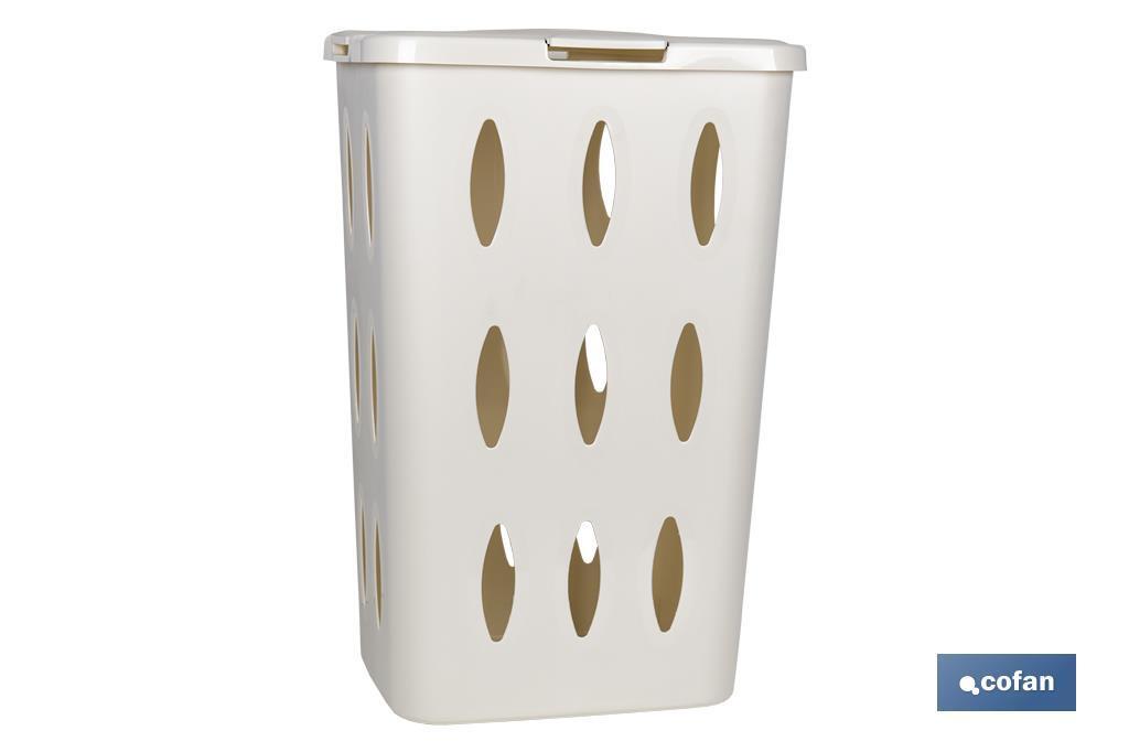 Pongotodo Rectangular Blanco / Marrón