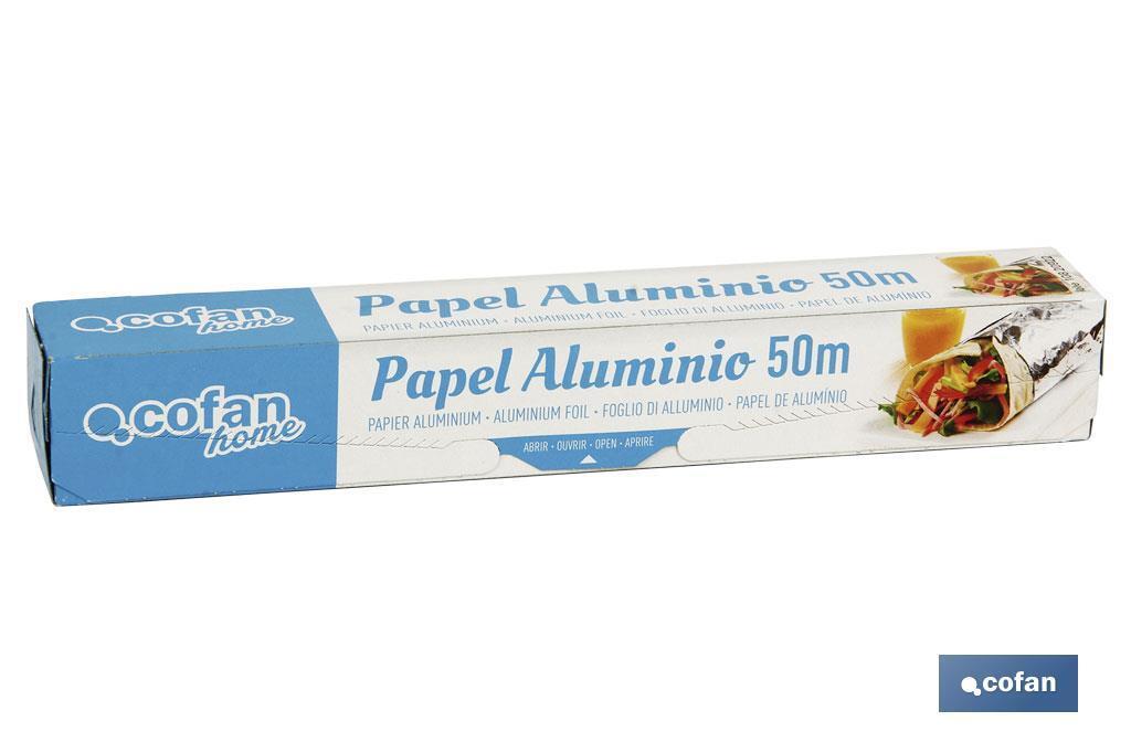Papel Aluminio Doméstico