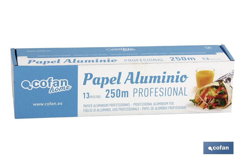 Papel Aluminio Profesional