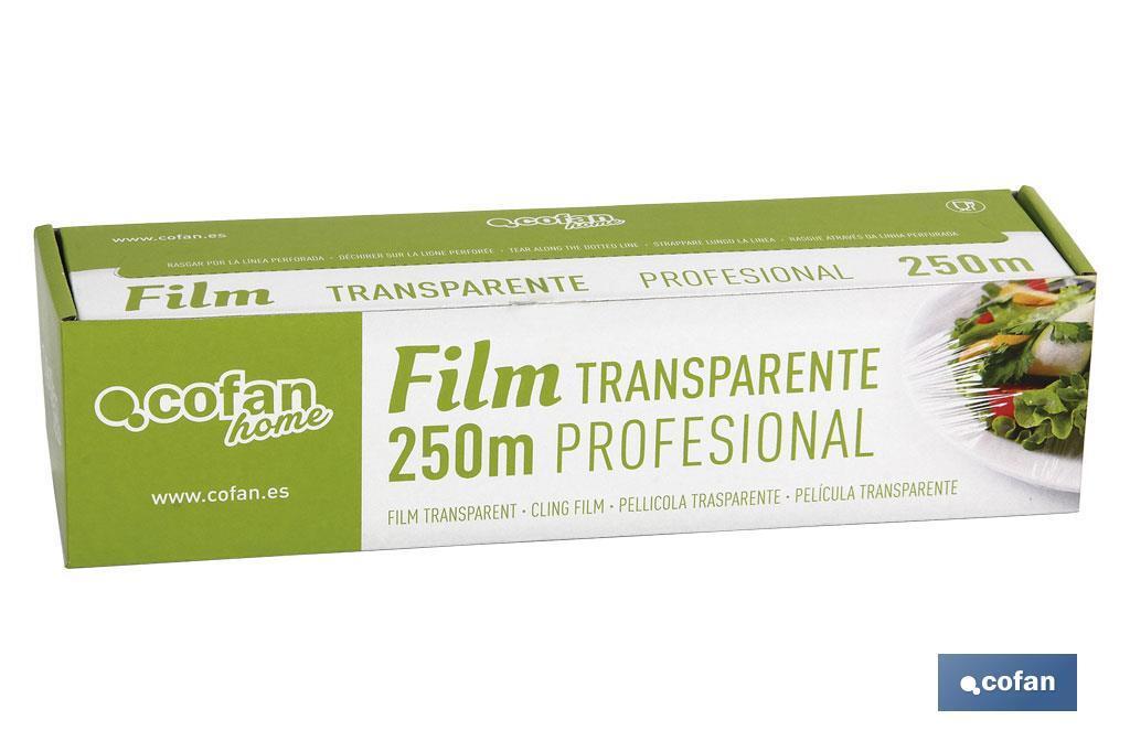 Film Transparente Profesional
