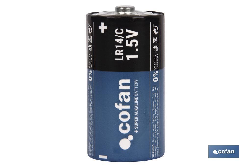 Pilas Alcalinas - LR14 C/1,5V