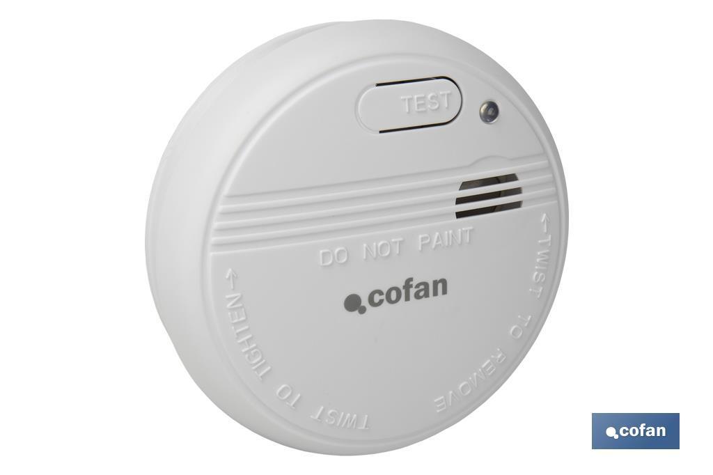 Detector de Humos con Alarma Sonido