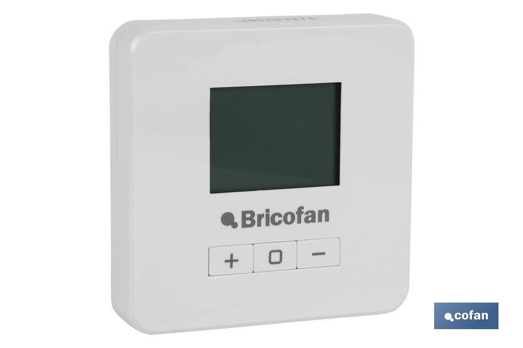 Termostato Digital para Calefacción