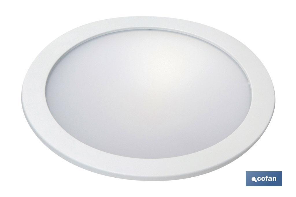 Downlight Blanco redondo Empotrar