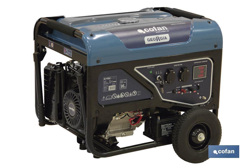Generador 389CC 5,5 KVA Mod.Georgia