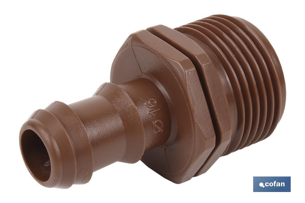 Enlace Mixto R.1/2-3/4 Ø16 (Max Seguridad)