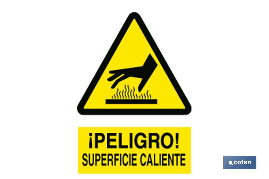 Cuidado Superficie Caliente