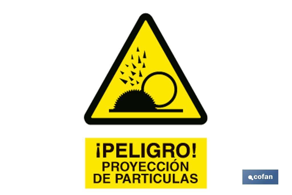 Proyección partículas