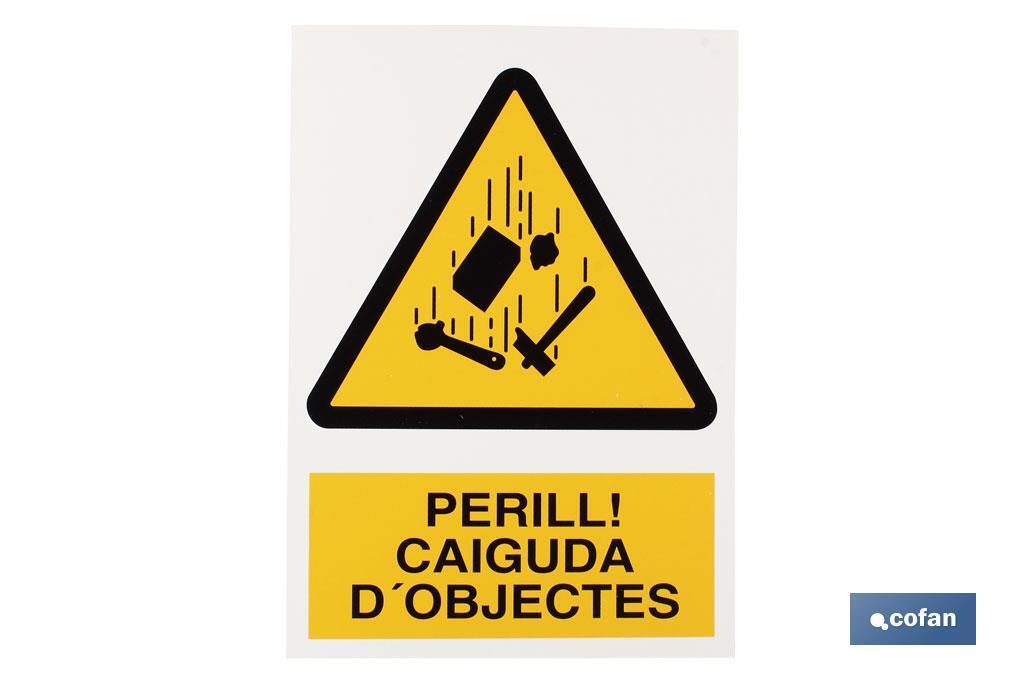 Perill Caiguda Objectes