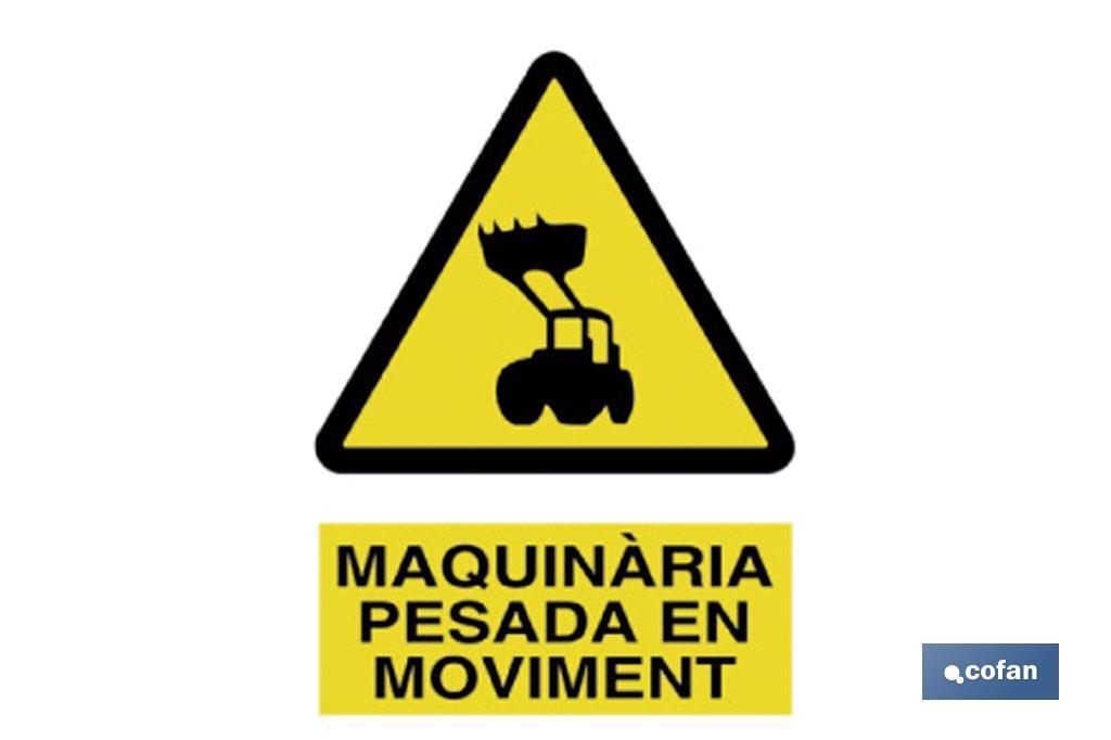 Perill Maquinària Pesada