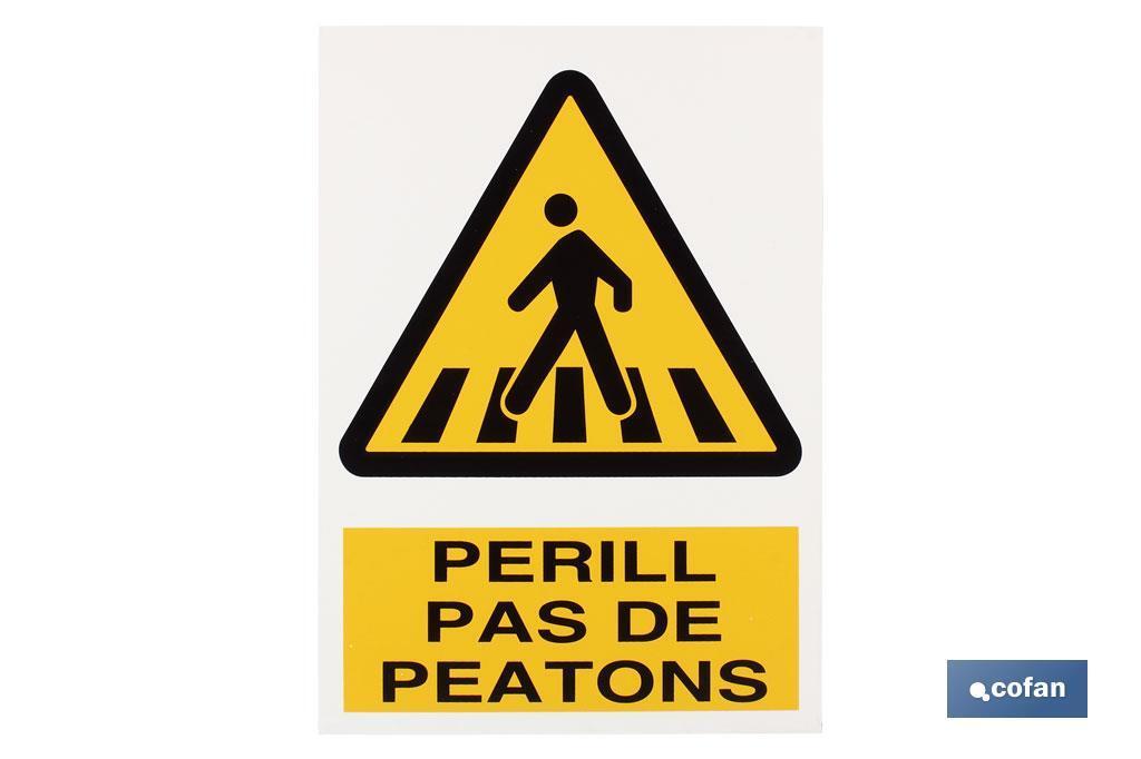 Perill pas peatons