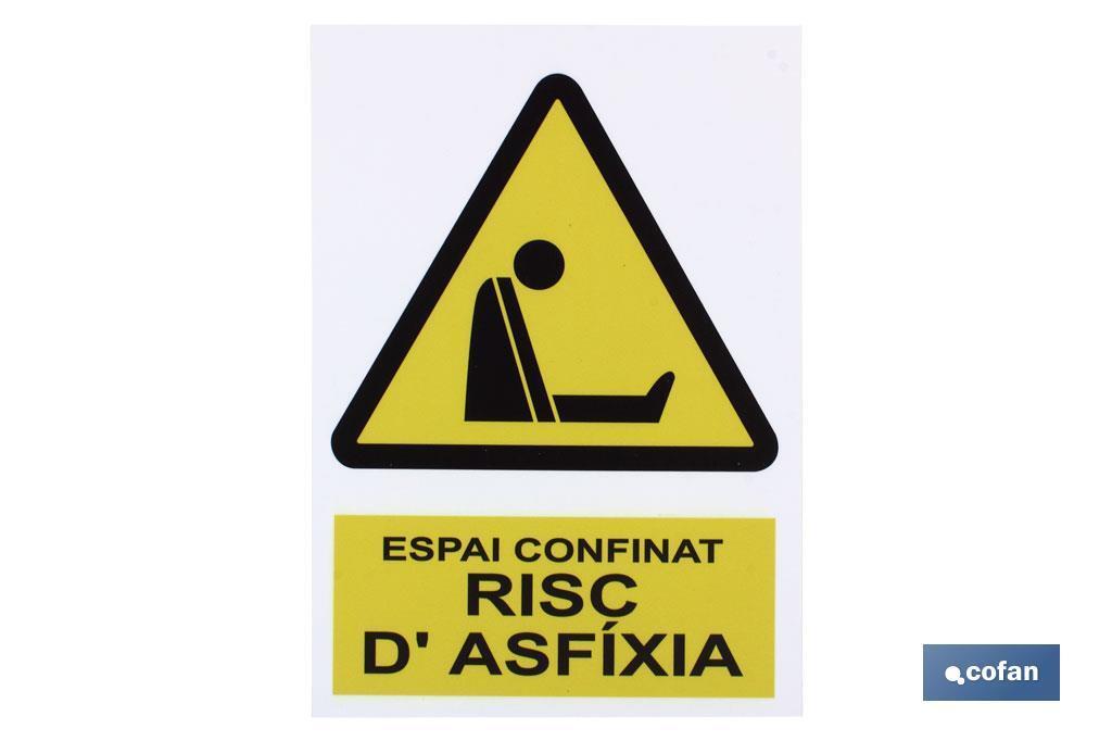 Espai confinat risc d\'axfixia