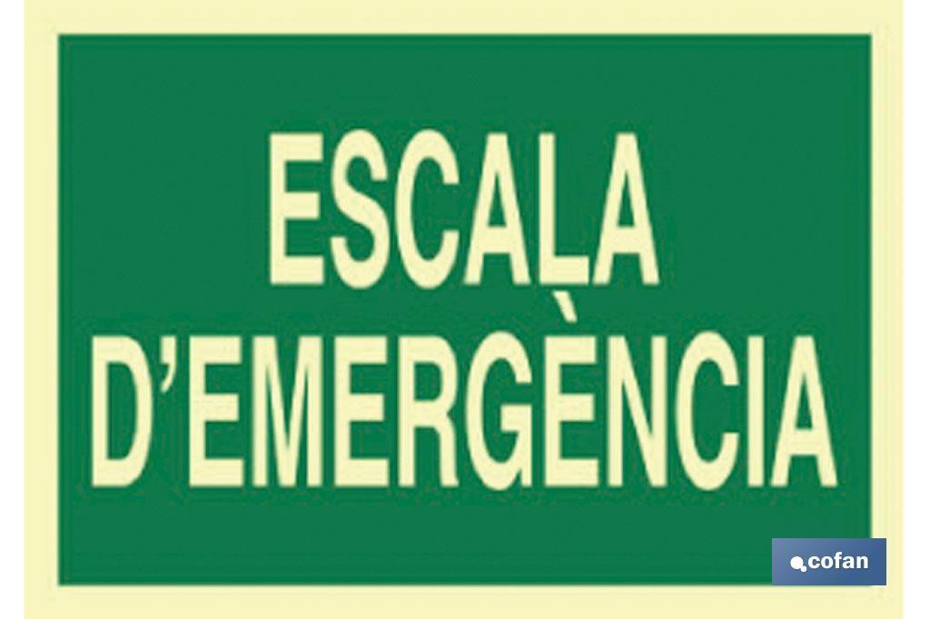 Escala D\'emergència