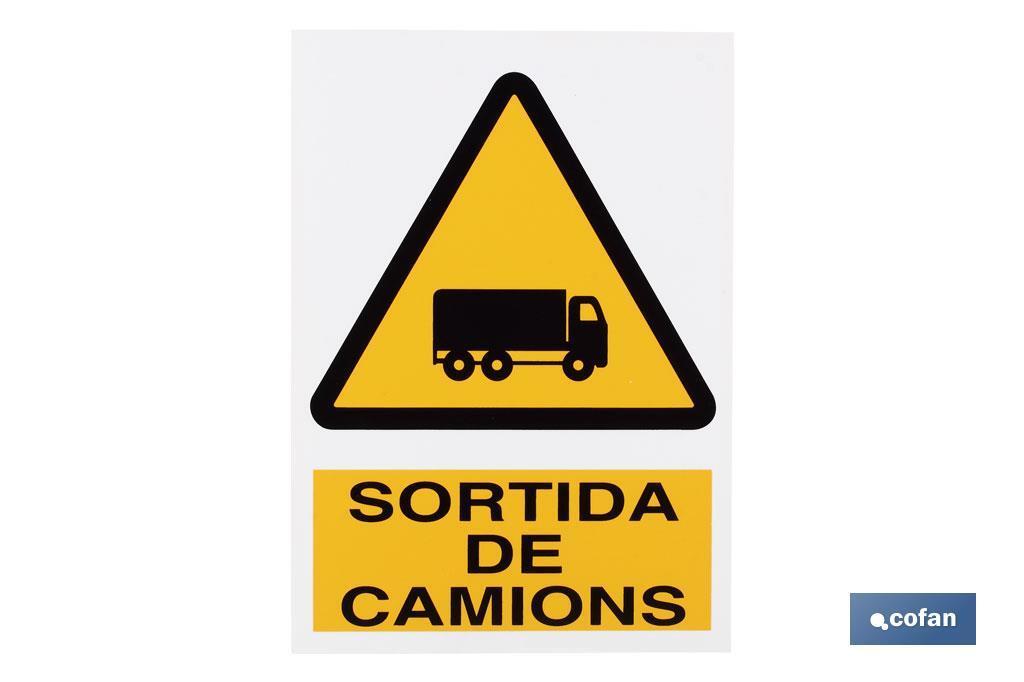 Perill Sortida Camions