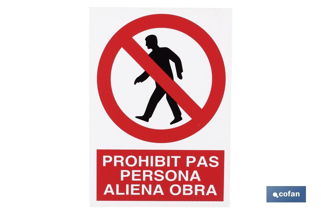 Prohibit pas persona aliena