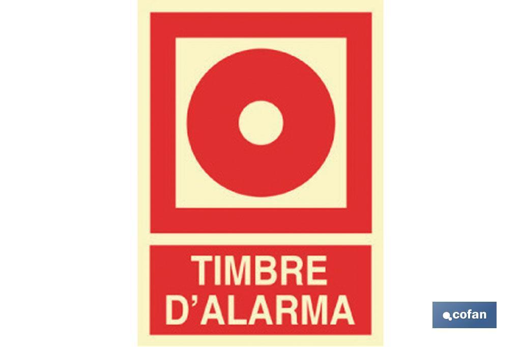 Timbre D\'Alarma