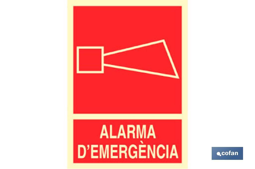 Alarma D\'Emergencia