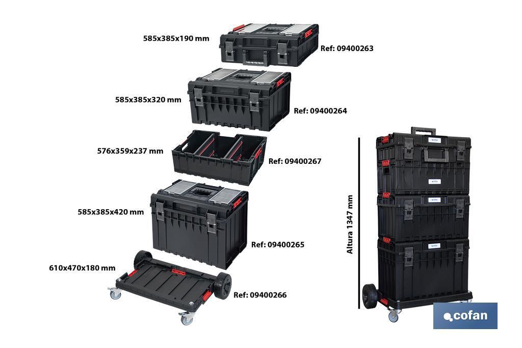 Caja Herramientas Multifunción Modular