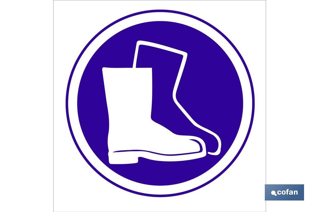 Obligatorio calzado seguridad