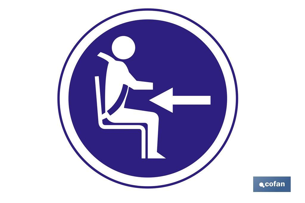 Obligatorio cinturon de seguridad