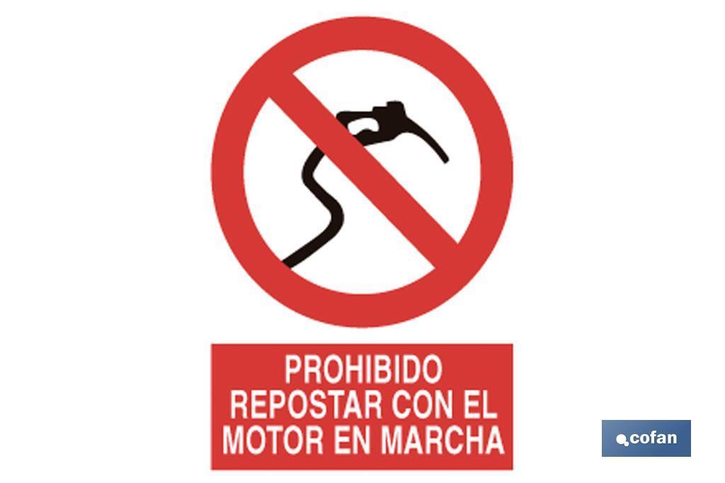 Prohibido repostar en marcha