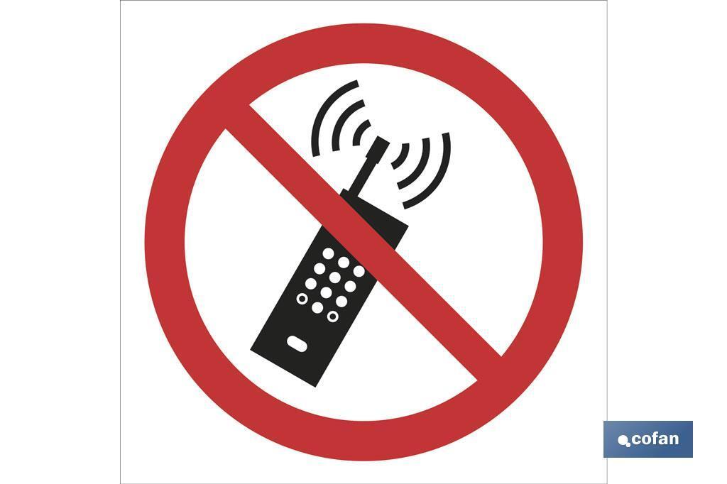 Prohibido teléfonos
