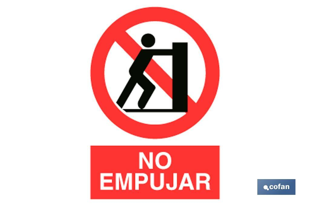 Prohibido Empujar