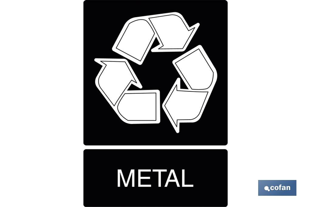 Reciclaje metal