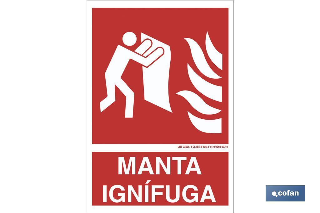 Manta ignifuga