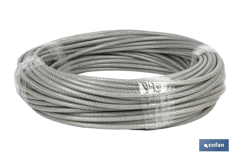 Cable Acero Plastificado