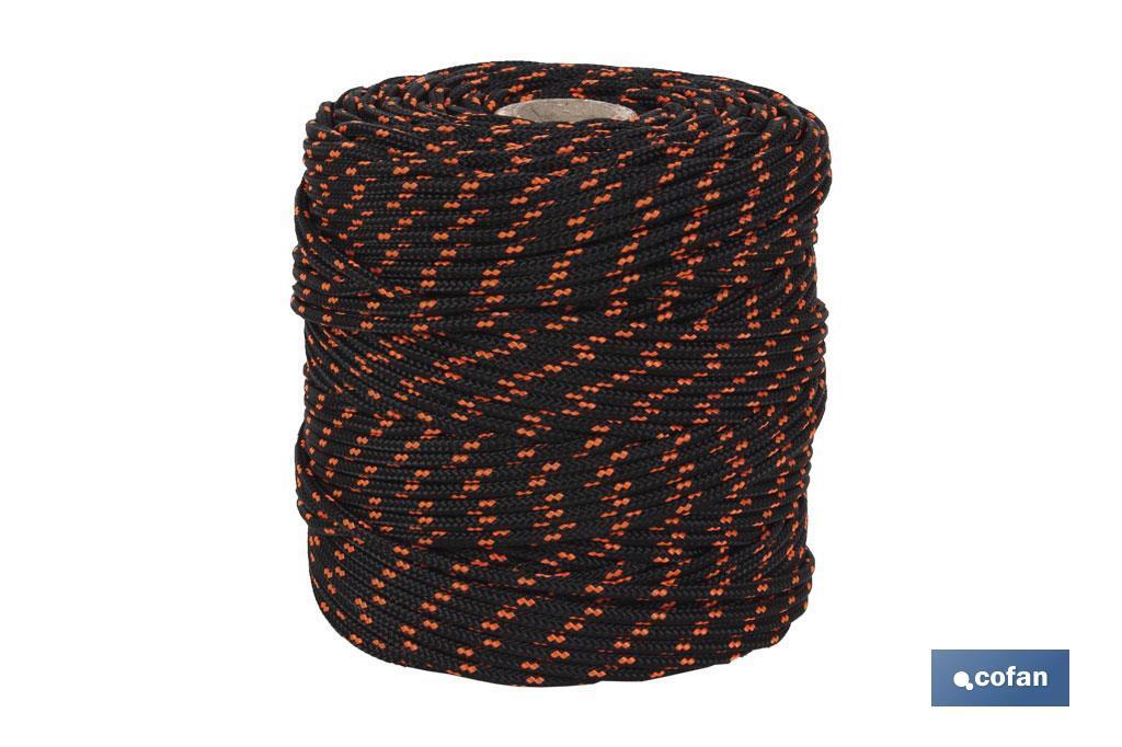 Cuerda HIPPIE Negro/Naranja
