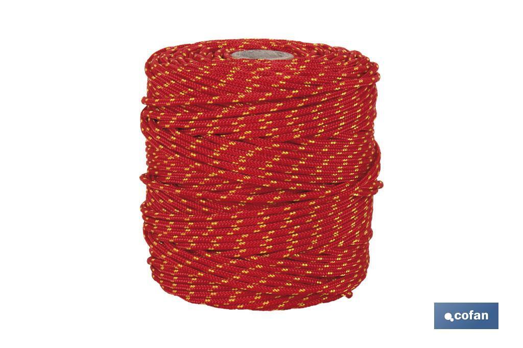 Cuerda HIPPIE Rojo/Amarillo