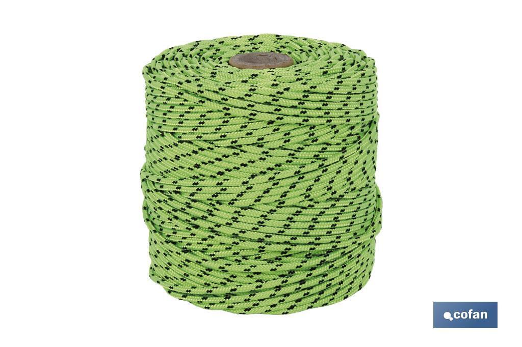 Cuerda HIPPIE Verde/Negro