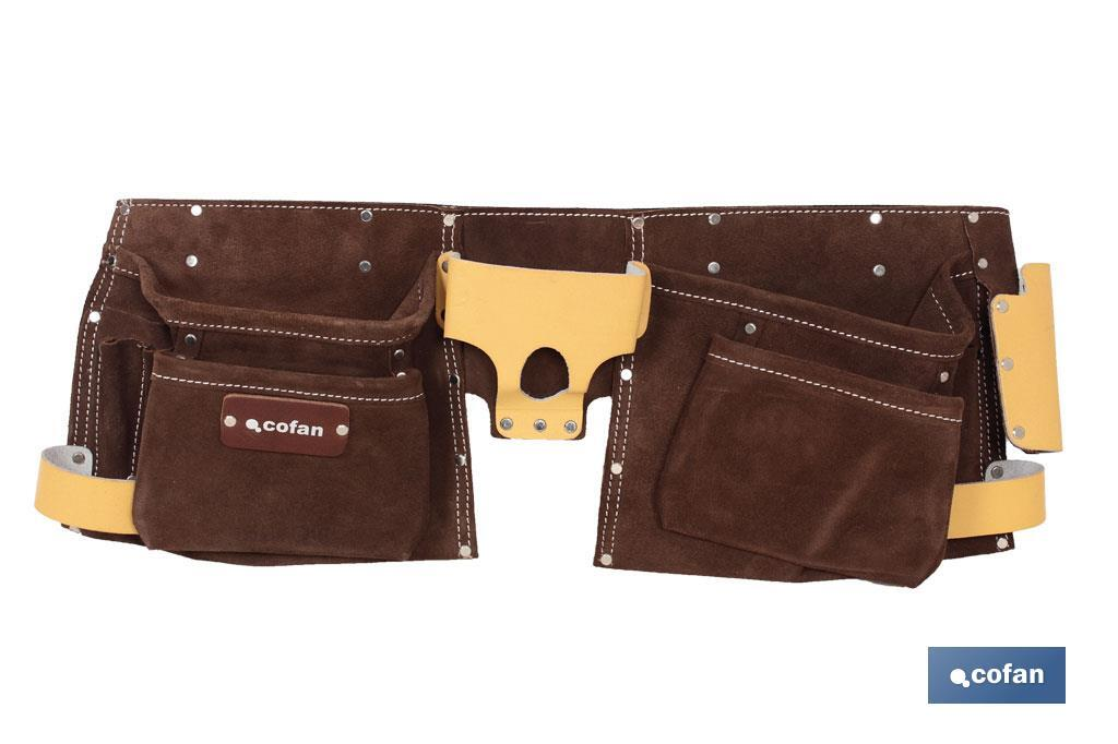 Portaherramientas super con cinturón (12 b)