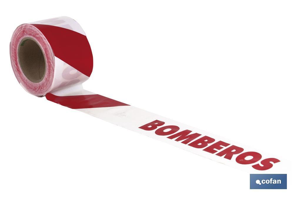 Cinta Balizamiento BOMBEROS